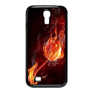 ZK-SXH - Fire Flower Brand New Durable Cover Case Cover for SamSung Galaxy S4 I9500, Fire Flower Cheap Cell Phone Case