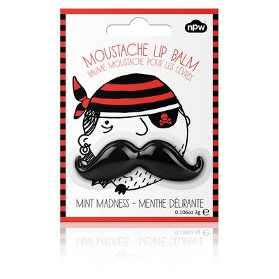 Black Mint Madness Mustache Lip Balm!, Health Care Stuffs