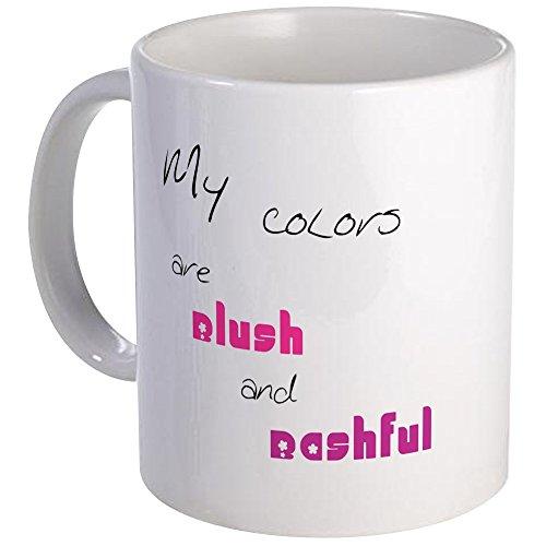 CafePress Blush And Bashful Mug Unique Coffee Mug, Coffee - Mug Blush