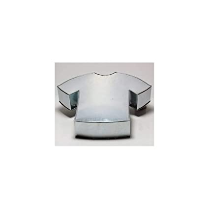 Euro Tins Molde Especial para Tartas en Forma de Camiseta DE FÚTBOL - Fiesta de cumpleaños Infantil - 28 x 35 cm