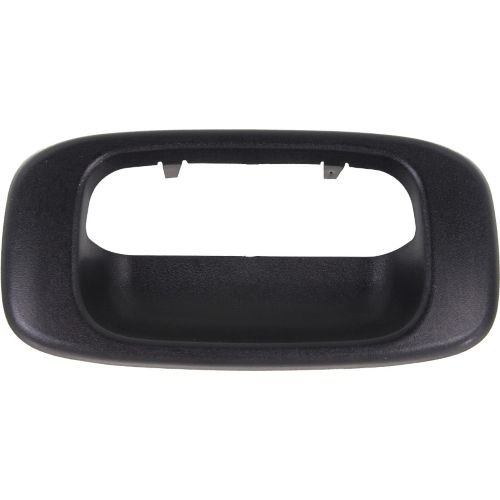 Make Auto Parts Manufacturing - Tailgate Handle Bezel For 1999-2006 Chevrolet Silverado / Gmc Sierra 1500 2500 3500 Includes 2007 Classic - Tail Gate Door Handle Bezel Trim - GM1916102