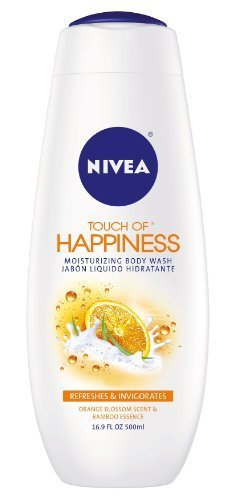 Nivea Touch Of Happiness Moisturizing Body Wash, Orange Blossom, 16.9-Ounce Bottles (Pack of 3) Personal Healthcare / Health Care (Orange Blossom Gel Perfume)