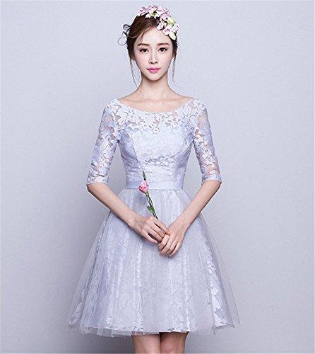 Grau Drasawee A Kleid Linie Damen 4rqxIrSHwU