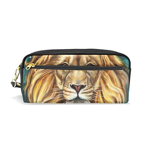 Pencil Pouch Aslan Lion Pen Case Zipit Cute School Makeup Bag Organizer Holder