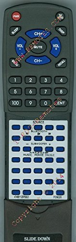 PIONEER Replacement Remote Control for 47466112SPSB23, SPSB23W -  Redi-Remote, RT47466112SPSB23