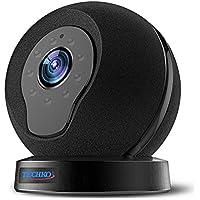 Techko Video Night Vision IP Camera, Black (V12)