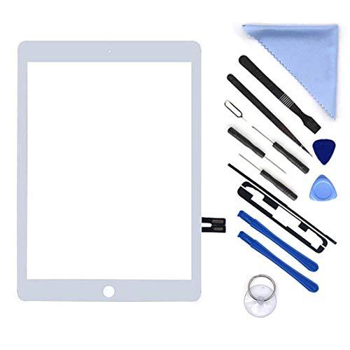 White Digitizer Repair Kit for iPad 9.7