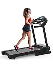 Advwin Treadmills - 3.5HP Treadmill Running Exercise Machine with Auto Incline, 150KG Capacity Fully Foldable Cardio Fitness 480mm Belt Width 1-20kmh Speeds, FitShow App Tablet Holder