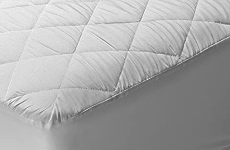 Pikolin Home - Protector de colchón acolchado cubre colchón, impermeable y transpirable, 105 x 190/200 cm, cama 105 (Todas las medidas): Amazon.es: Hogar