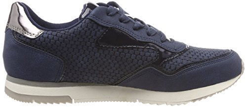 853 Blau Comb Sneakers Tamaris Denim 23601 Damen ZFwqnxYO