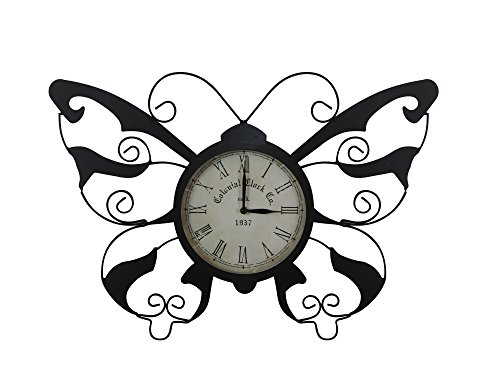 Alpine Clock - Alpine HAV110 Butterfly Clock, 15
