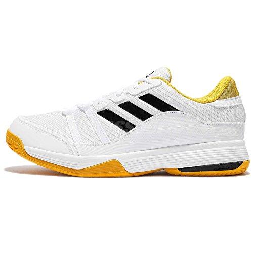 adidas Performance Herren Barricade Court 2 Tennisschuh Weiß / Gelb / Schwarz