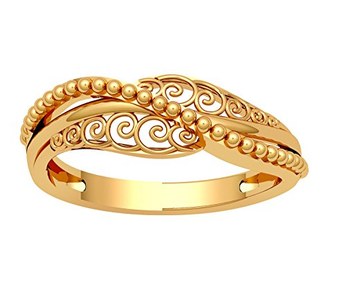 81629c71a Buy JewelOne 22k (916) Yellow Gold The Nerina Ring Online at Low Prices in  India | Amazon Jewellery Store - Amazon.in