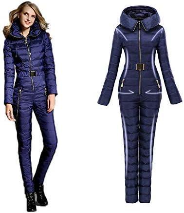 Damen-Mountain-Ski-Overall Snowboardhose,XS Skibekleidung GUAN Unten Dicke Winterkleidung Super Warm Anz/üge Skianz/üge