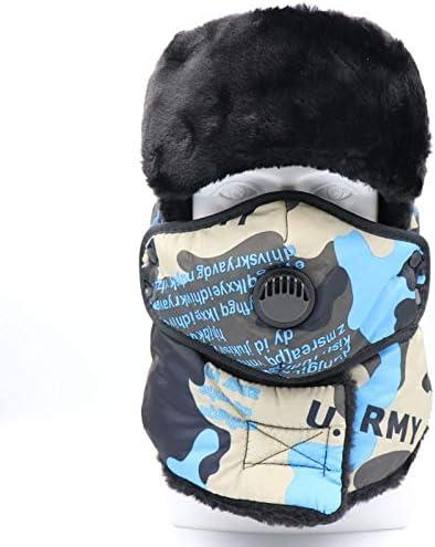 WhYlzh Sombrero del Invierno Bombardero Sombreros Ushanka ...