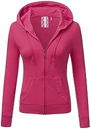 Amazon.com: Pink - Fashion Hoodies &amp Sweatshirts / Clothing