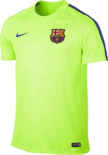 Nike Men's Dry Squad Top FC Barcelona Training Jersey (XXL) Ghost Green