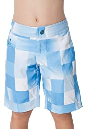 TEN-80 Lil Sandbar Boardshort Size 8T- Lt Blue