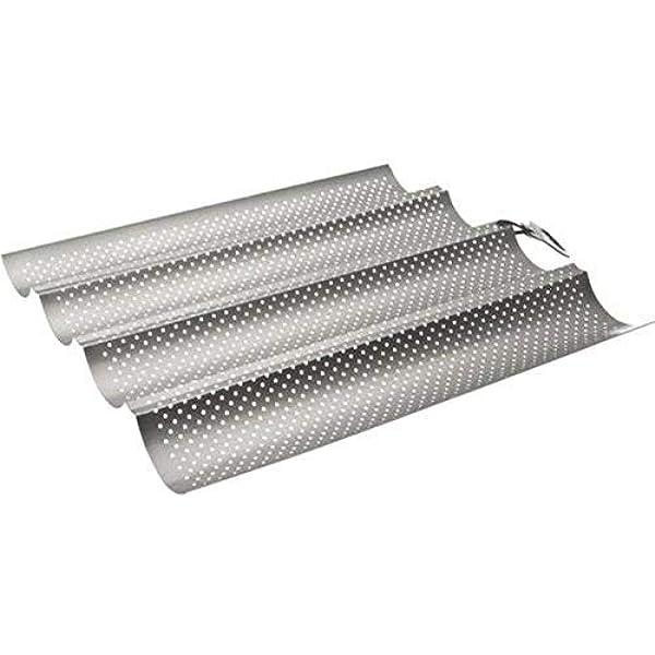 IBILI Molde Pan 19X10,5CM Aluminio ANODIZADO, Plata, 19,4 x 10,7 x ...