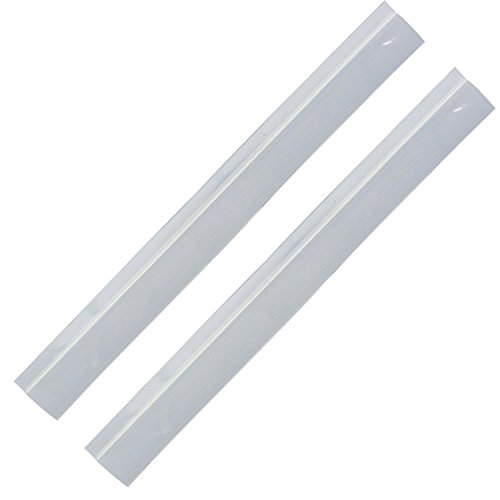 Range Strip (Range Kleen 693 Clear Silicone Gap Covers, 2 Pcs.)
