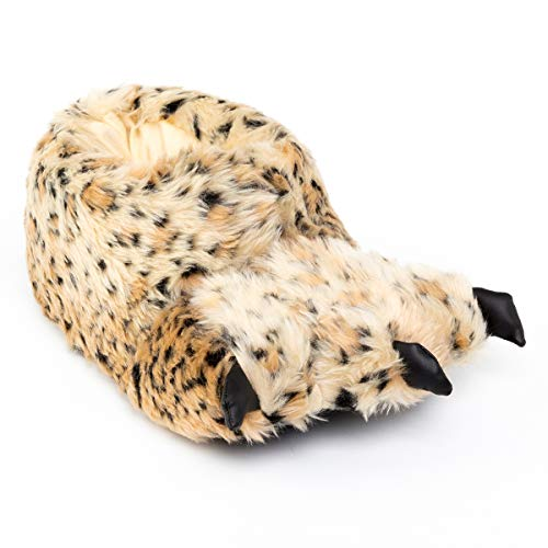 K KomForme Women Animal Slipper Flush Warm Comfy Fun Indoor Slipper for Adults