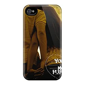 Durable Hard Cell-phone Case For Iphone 4/4s (GZH5392QXed) Custom Attractive You And Me Pattern