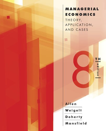 Managerial Econ.:Theory...(Paper)