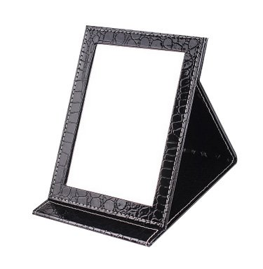 Famiry Portable Travel Vanity Mirror, Large Folding Mirror with Standing for Making Up