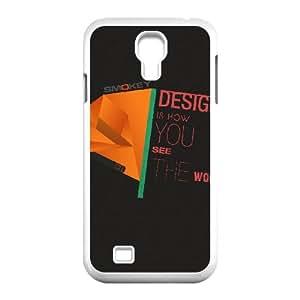 Okaycosama Funny Samsung Galaxy S4 Cases Design 6 for Boys, Samsung Galaxy S4 Case Luxury, [White]