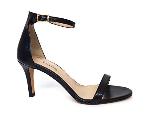 MARIA CRISTINA Women's Fashion Sandals Black DWn8o61