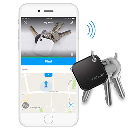 Key Finder Locator,Key Finder,Phone Finder,Bluetooth Tracker for Keys,Wallet,Bag,Smart Tag with App Control by DZCPing