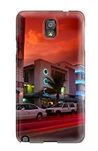 New Style Durable Case For The Galaxy Note 3- Eco-friendly Retail Packaging(miami City) 9550851K94116529