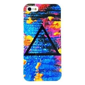 HC- Patrón Punk Triángulo de plástico duro caso para iPhone 4/4S