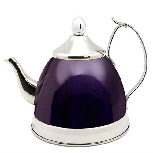 Creative Home Nobili-Tea 1.0 Qt. Stainless Steel Tea Kettle