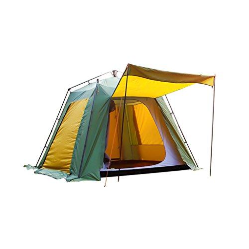 湿地逆に冷ややかなYDYLZC- テント、自動アウトドアマルチプレイヤーキャンプアウト防寒テント 柔らかい