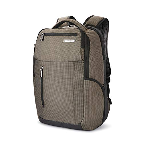 (Samsonite Tectonic Lifestyle Crossfire Business Backpack, Green/Black, One Size)