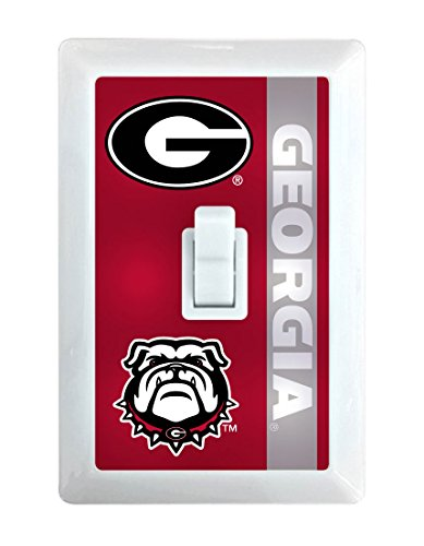 Georgia Bulldogs LED Light switch ()