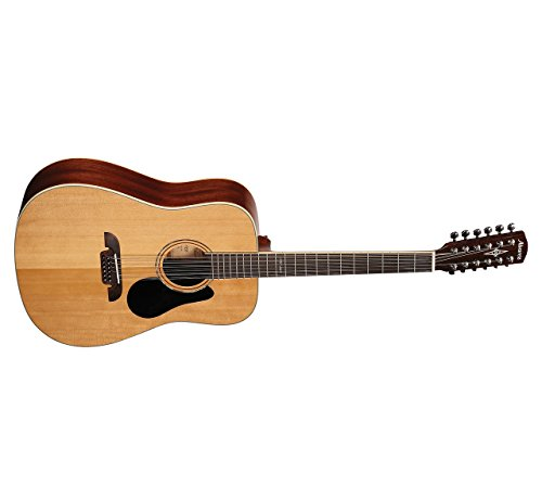 s AD60-12 Dreadnought Twelve String Acoustic Natural/Gloss Finish ()