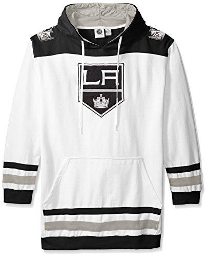 Profile Big & Tall NHL Los Angeles Kings Men's Double Minor Fleece Hoodie, 3X, (Los Angeles Kings Team Fleece)