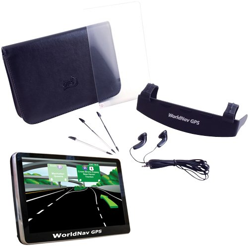 TeleType 740060 WorldNav7400 High Resolution Truck GPS and 7406 WorldNav7400 Truck GPS Accessory Kit by TeleType