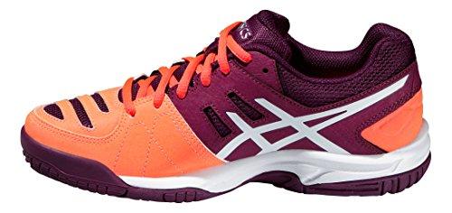 Zapatillas de tenis Asics Gel Padel Pro 3GS NARANJA LILA