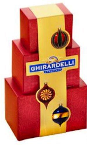 Ghirardelli Chocolate Three Stack Holiday
