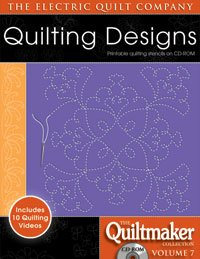 - Electric Quilt The Quiltmaker Volume 7 Printable Quilting Stencils on CD-ROM