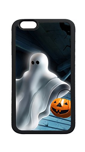 iPhone 6s Plus Case, halloween ghost DIY Custom Photo Printed TPU Bumper Sturdy Shell Protective Case for iPhone 6 6s Plus ()
