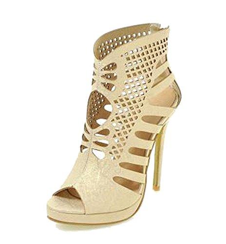 2018 New Size 33 Women New Trend Pumps Girl Super High Thin Heel Sandals Ladies 34 41 42,Gold,6