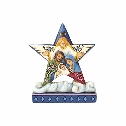 Enesco Jim Shore Heartwood Creek Mini Nativity Star on Cloud by Enesco