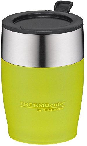 térmica Café by Thermos Adultos Desk Cup - Vaso, Acero Inoxidable Lime 0, 25 L isoliertasse, 0,25 L: Amazon.es: Deportes y aire libre