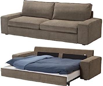 Amazon Com Ikea Slipcover Kivik 3 Seat Sofa Bed Tranas