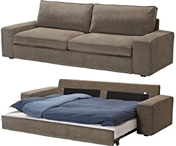 Wonderful Amazon.com: IKEA Slipcover For Kivik 3 Seat Sofa Bed, Tranas Light Brown  Sleeper Cover: Kitchen U0026 Dining
