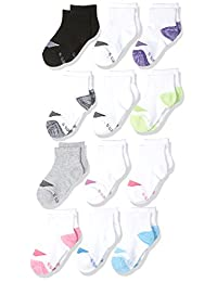 Hanes girls 12 Pack Ankle Socks Socks